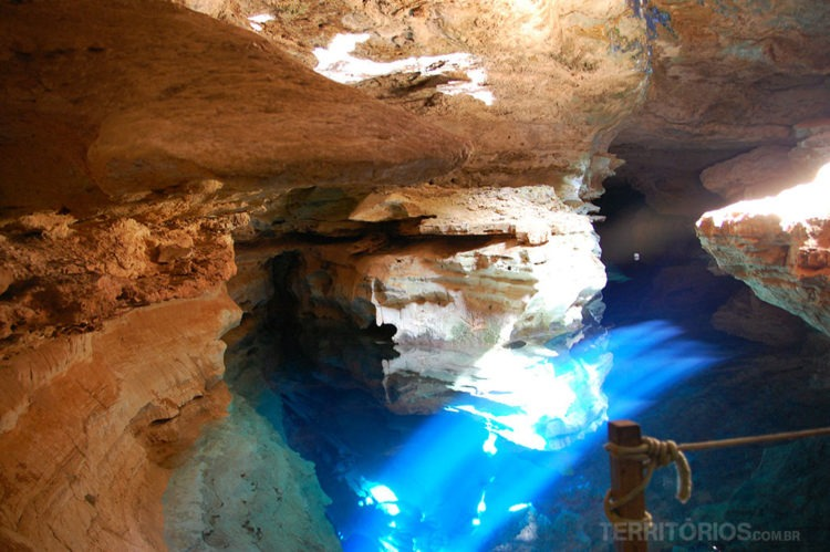 Poço Azul, Chapada Diamantina, Bahia - Brasil