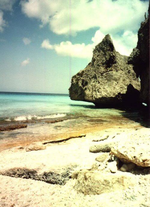 Pedras em Kas Abao