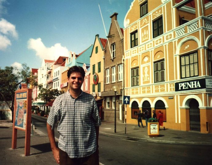 No centro de Willemstad