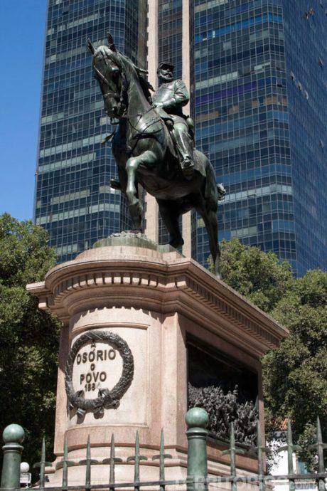 Cel. Pedro Osório na Pç. XV