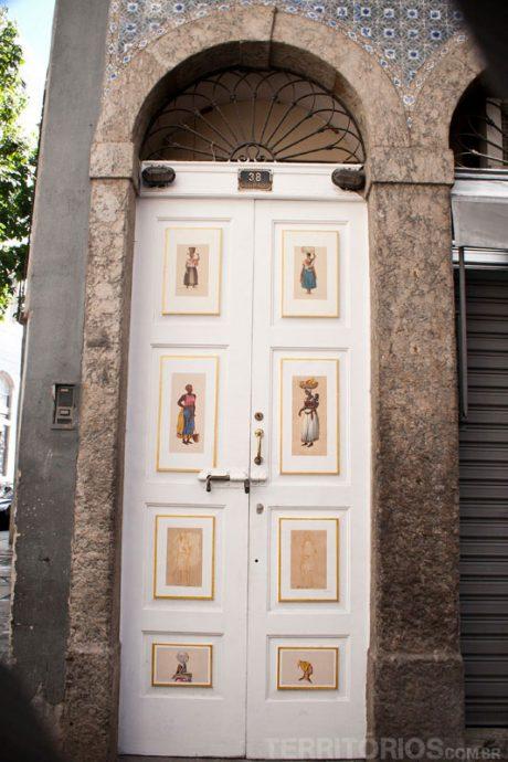 Detalhes nas portas