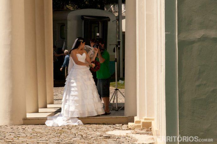 Noiva no Museu da Vale
