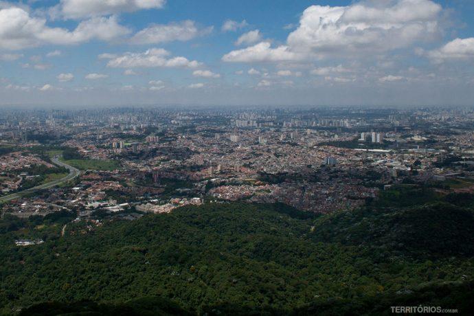 Vista no Parque Estadual Jaraguá