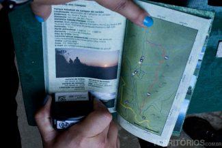 Carimbando o passaporte