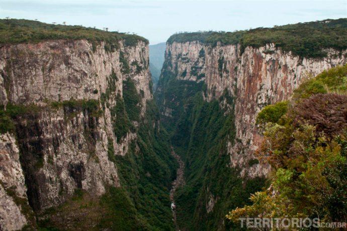 O mais conhecido dos canyons brasileiros