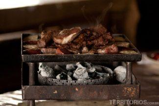 Carnes e queijos divinos