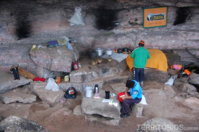 Cozinha do Acampamento