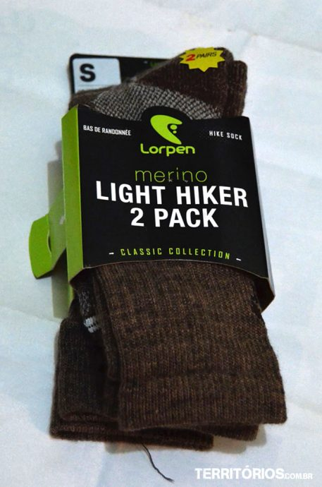 Estas meias foram perfeitas nas trilhas