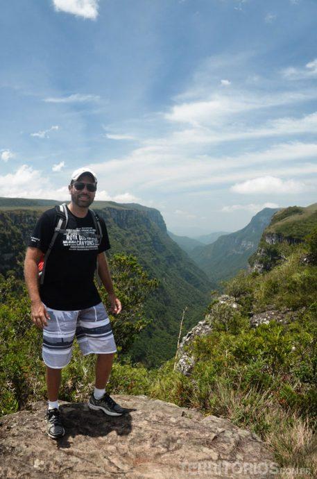 Quando não tem vento pode ser bem quente no canyon Fortaleza