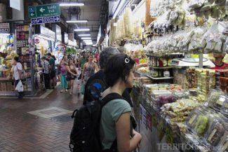 Compras no Mercado Central