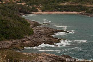 Praia do Forno vista do mirante