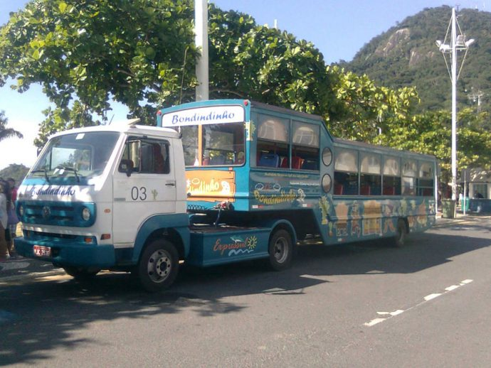 Bondindinho, nosso transporte em Camboriú