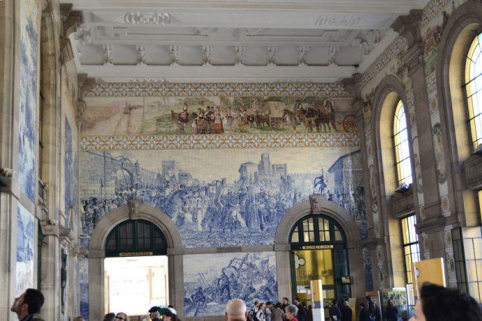 Prédio histórico na Estação São Bento