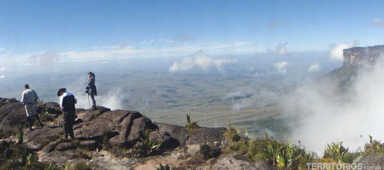 caminho Monte Roraima