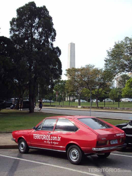 No Ibirapuera, em São Paulo