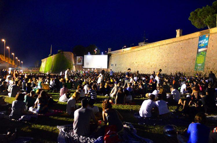 Cinema a céu aberto
