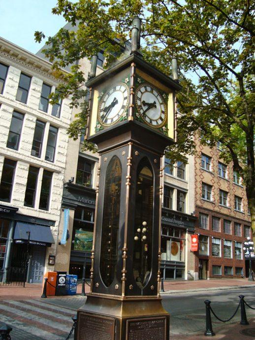 Relógio de Vapor na Water Street