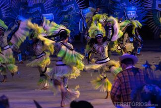 Cultura indígena através da dança