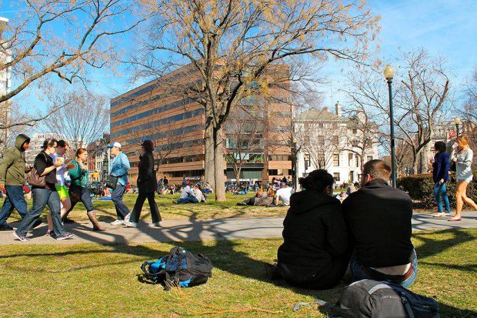 Parque em Dupont Circle