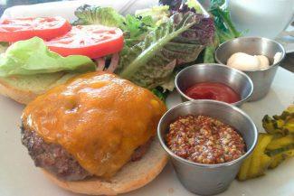 Delicioso hamburger no 2cents