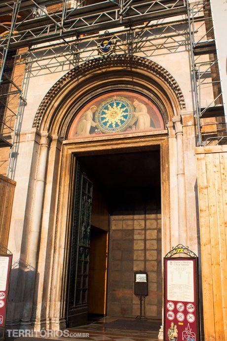 A porta de entrada