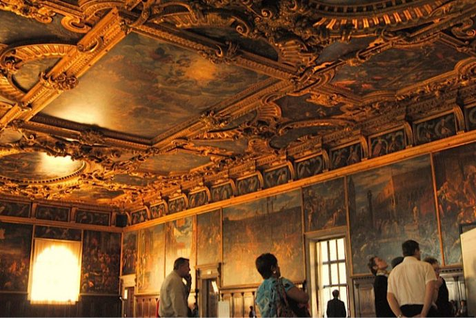 Interior do Palácio Ducal