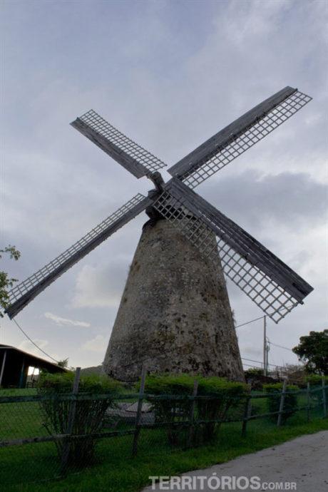 Morgan Lewis, o único moinho ainda em funcionamento no Caribe