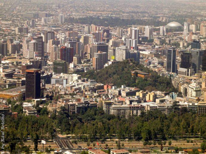 Vista do Cerro de San Cristóbal