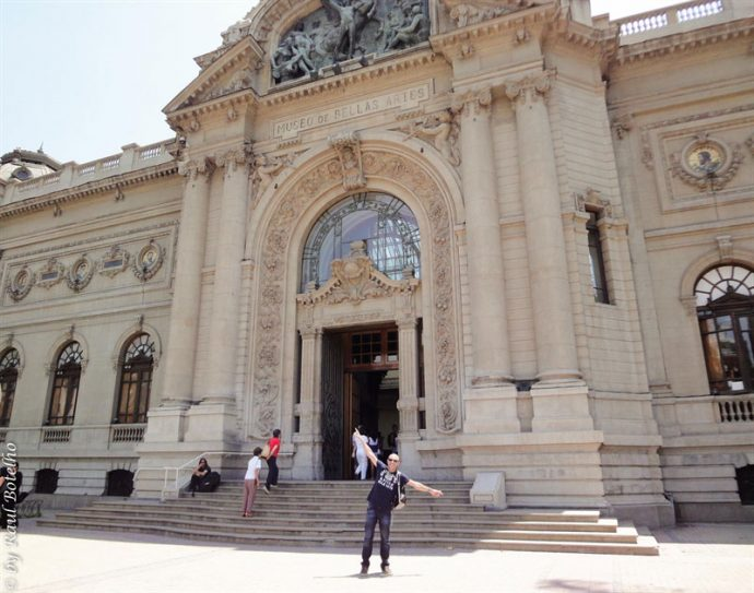 No Museu de Belas Artes