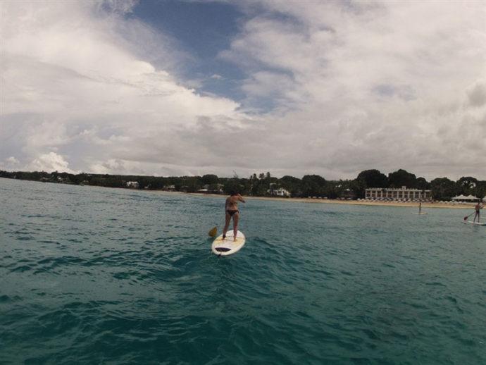 Stand up paddle (foto de Maurício Oliveira, do Trilhas e Aventuras)