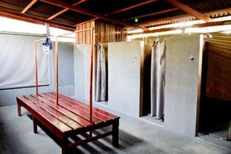 Interior da sala de banho