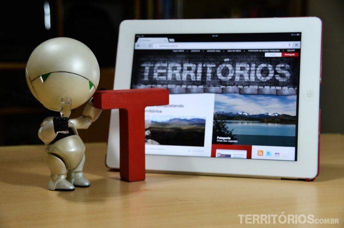 T e seu amigo Marvin, o mascote do Leandro