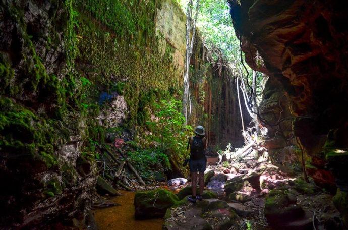 Dentro do Canyon Sussuapara (Viagens Cinematográficas)