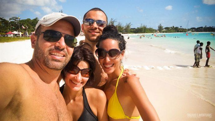 Nosso primeiro dia em Barbados