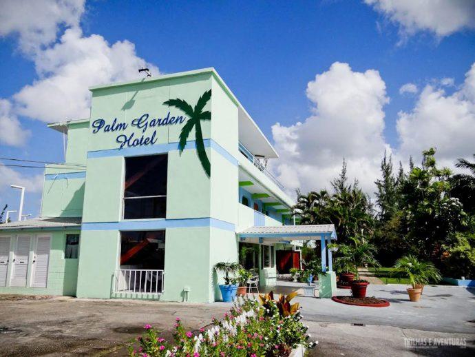 Fachada Palm Garden, um dos hotéis em Barbados