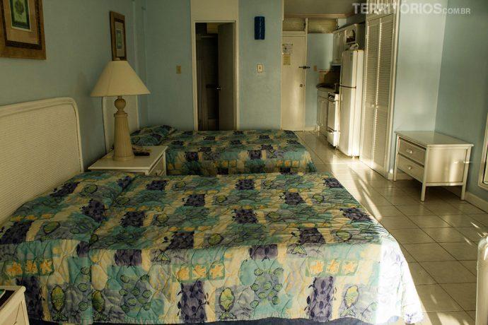 Meu quarto no Yellow Bird