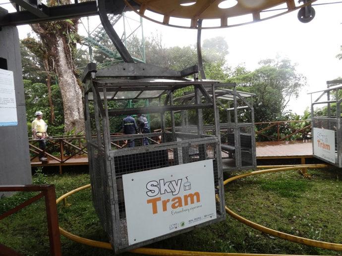 Sky tram