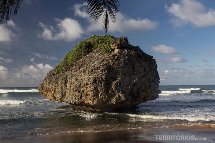 Bathsheba é a praia mais bonita em Barbados