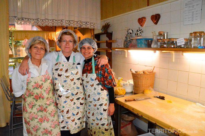 Daniela, Mônica e eu