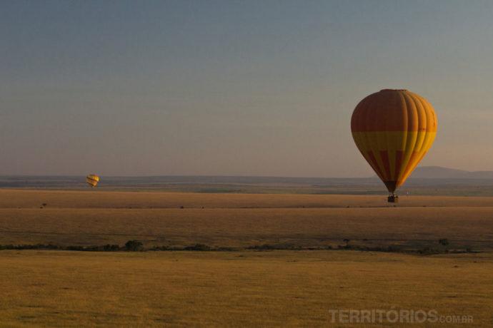 Voo de balão em Maasai Mara