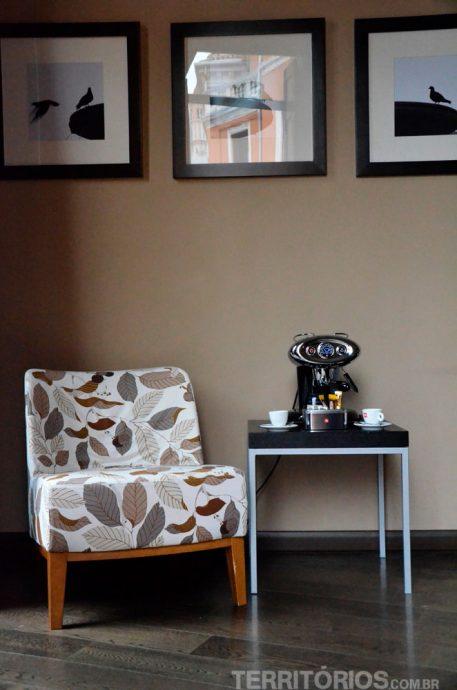 Café expresso Illy no quarto