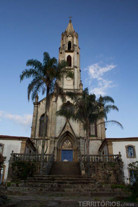 A primeira igreja neogótica do Brasil - Nossa Senhora Mãe dos Homens