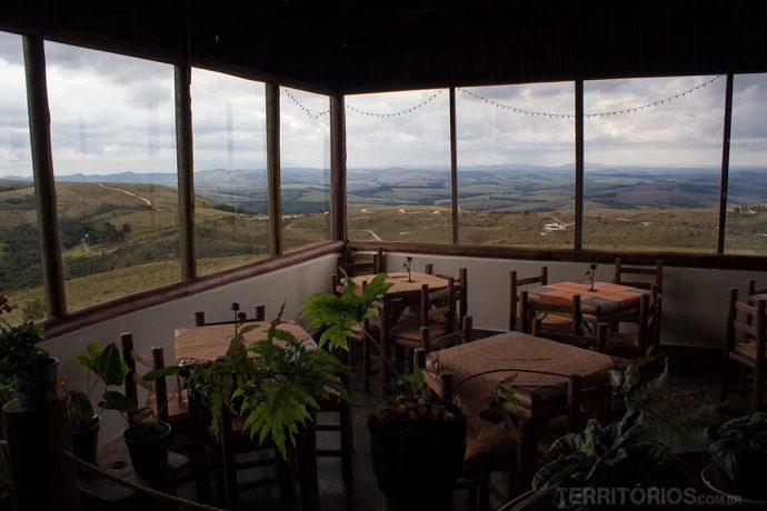 Vista no Mirante Serra Verde