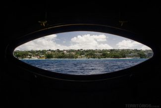Janela do barco Tiami