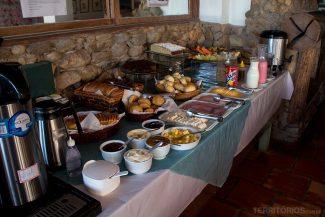 Café da manhã na casa principal