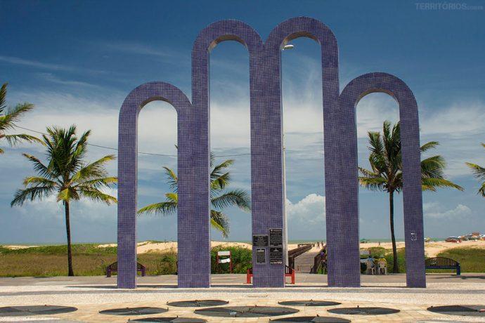 Os Arcos são o cartão postal de Aracaju