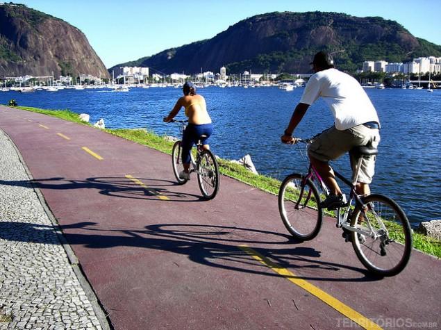 Pedalada ao redor da Lagoa Rodrigo de Freitas