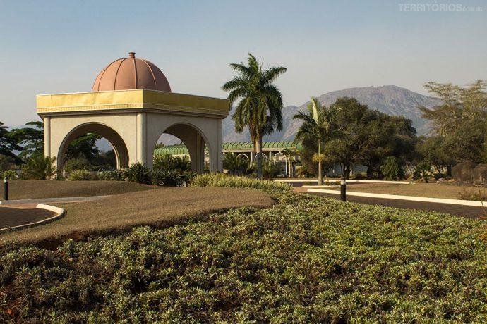 Área da realeza em Lobamba, ao lado do Museu Nacional
