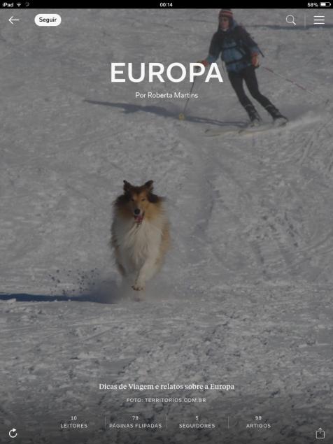 Melhores posts da Europa