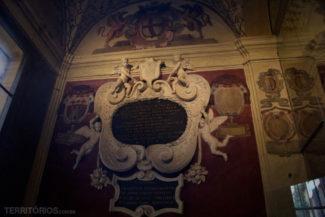 Detalhe na Basílica de São Petronio